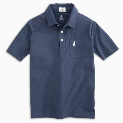 HEATHERED ORIGINAL JR. POLO SHIRT FOR KIDS