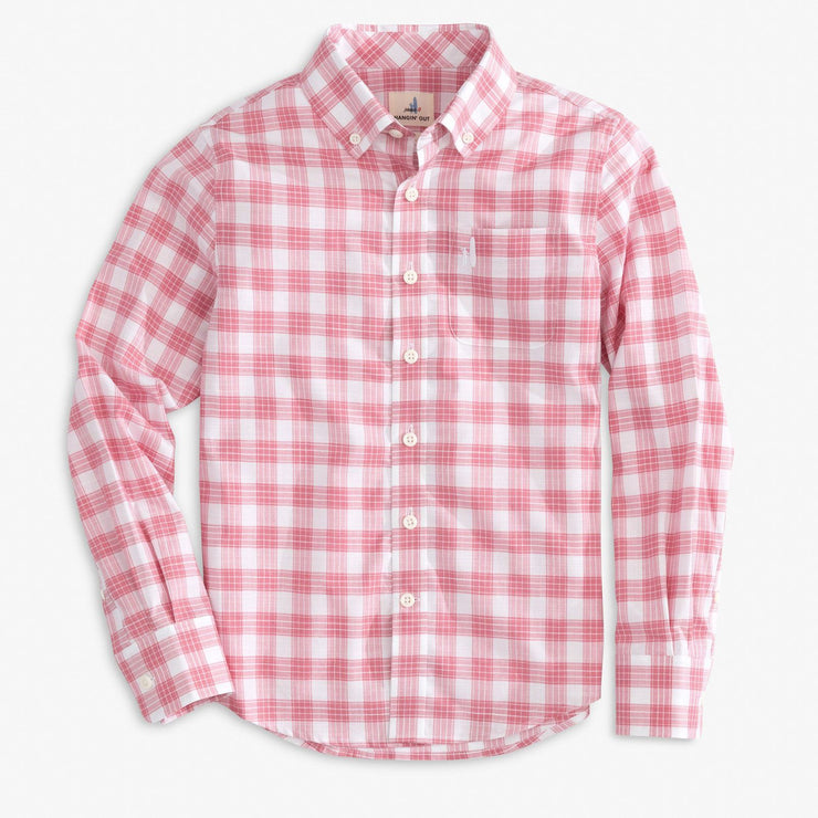 BRIGHTON JR. HANGIN' OUT BUTTON DOWN SHIRT FOR KIDS