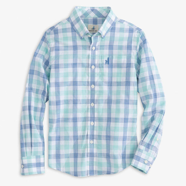 HUMPHREY JR. HANGIN' OUT BUTTON DOWN SHIRT FOR KIDS