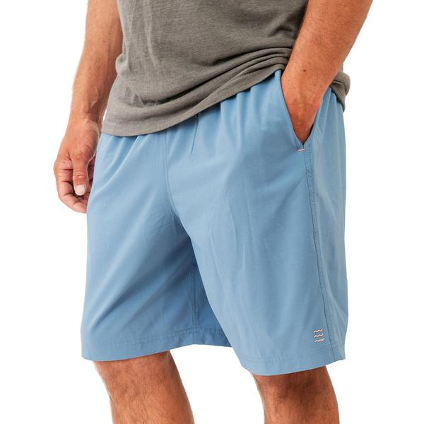 Free Fly Apparel Breeze Shorts for Men Blue Reef