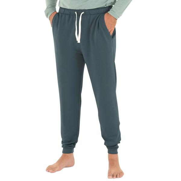 Free Fly Apparel Bamboo Fleece Jogger Blue Dusk