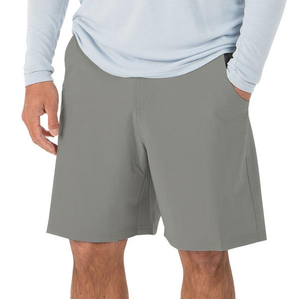 "Free Fly Apparel 7.5"" Hybrid Shorts Storm Grey"