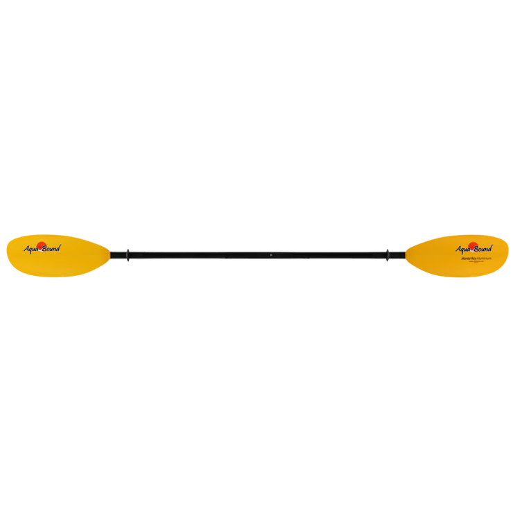 Manta Ray Aluminum 2-Piece Snap-Button Kayak Paddle