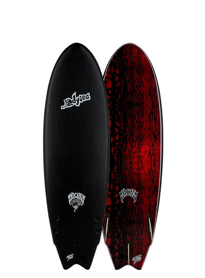 Catch Surf …Lost Round-Nose Fish Board Black 5'11""