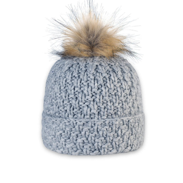 Pistil Diva Beanie for Women Grey