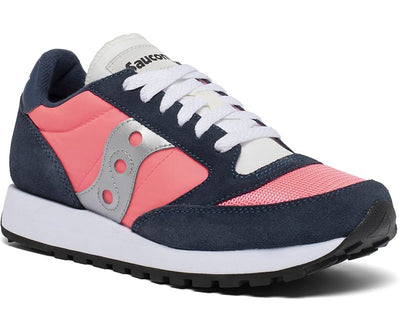 Saucony Jazz Original Vintage Shoes for Women Navy ViZiPink
