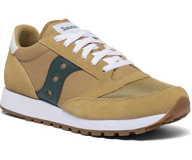 Saucony Jazz Original Vintage Shoes for Men Curry Mallard