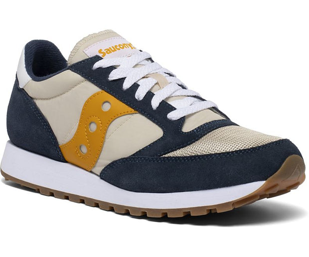 Saucony Jazz Original Vintage Shoes for Men Denim Tapioca Curry