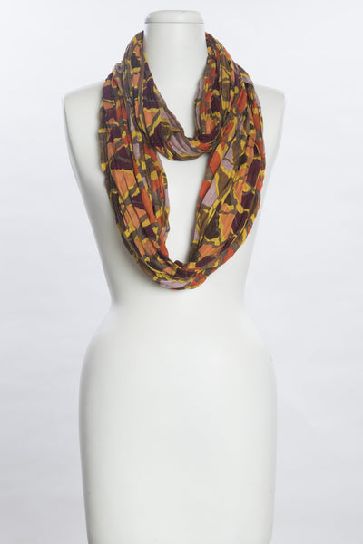 Painted Chevron Scarf for Women