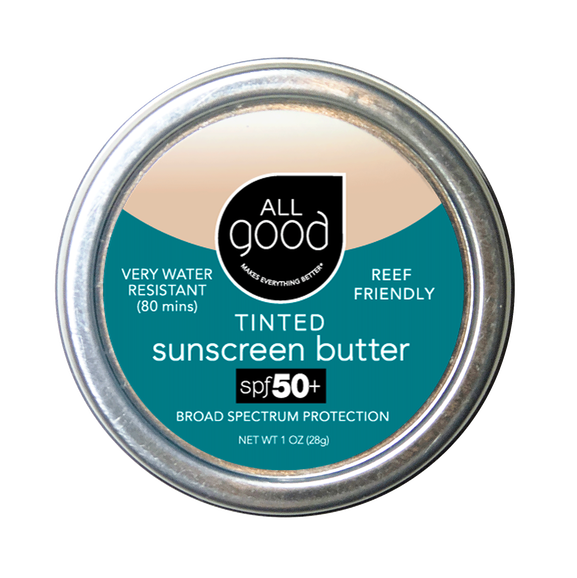 TINTED ZINC SUNSCREEN BUTTER- SPF 50