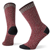 Popcorn Polka Dot Crew Socks for Women