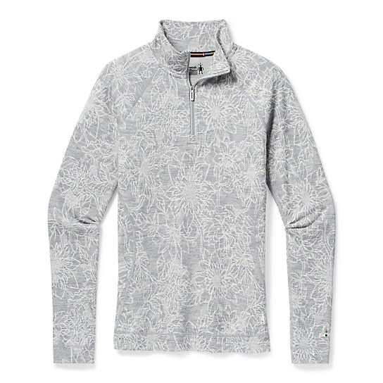 Merino 250 Base Layer Pattern 1/4 Zip for Women
