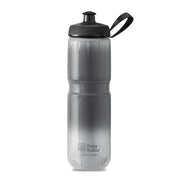 Polar Bottle Sport Insulated 24 oz Charcoal Silver Fade