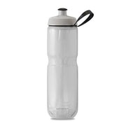 Polar Bottle Sport Insulated 24 oz White Silver Fade