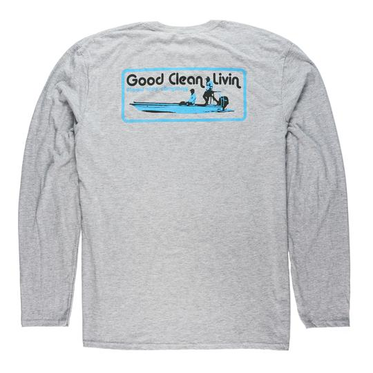 Vintage GCL Long Sleeve T-shirt for Men