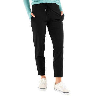 Free Fly Apparel Breeze Cropped Pants for Women Black