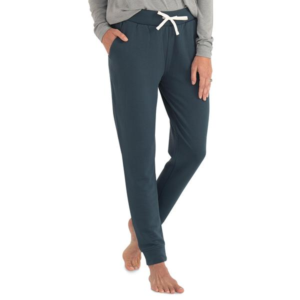 Free Fly Apparel Bamboo Fleece Joggers Blue Dusk
