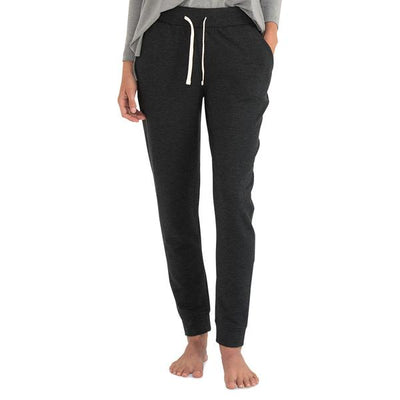 Bamboo Fleece Jogger for Women #color_heather-black