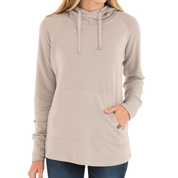 Free Fly Apparel Bamboo Fleece Pullover Hoody Dune
