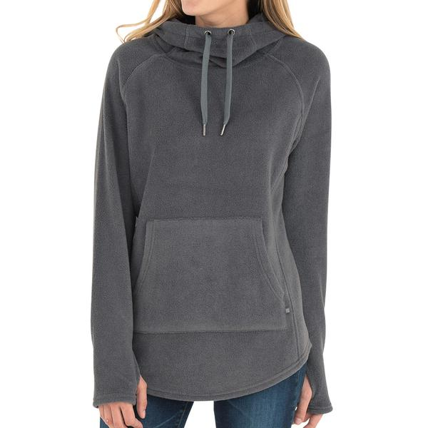 Free Fly Apparel Bamboo Polar Fleece Hoody Iron Grey