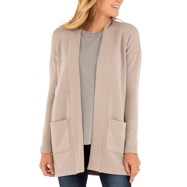 Free Fly Apparel Thermal Fleece Cardigan Dune