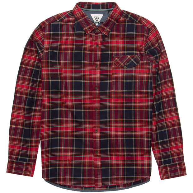 CENTRAL COAST LONG SLEEVE FLANNEL SHIRT FOR MEN