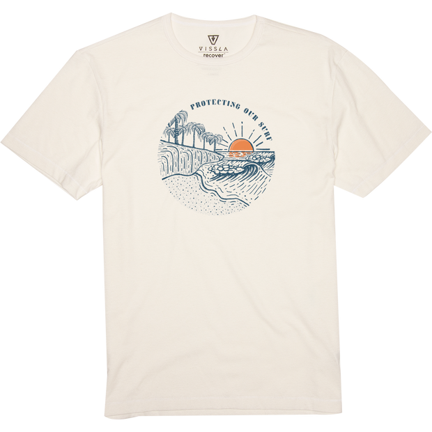 SURFRIDER CLIFFSIDE UPCYCLED TEE FOR MEN