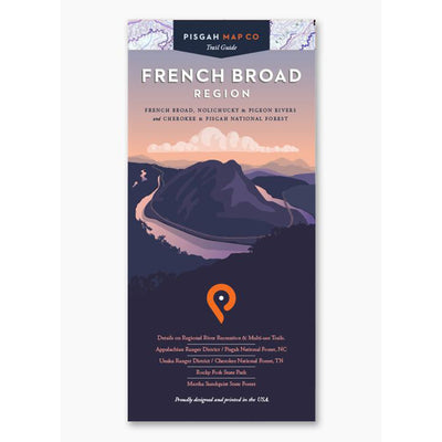 FRENCH BROAD REGION MAP