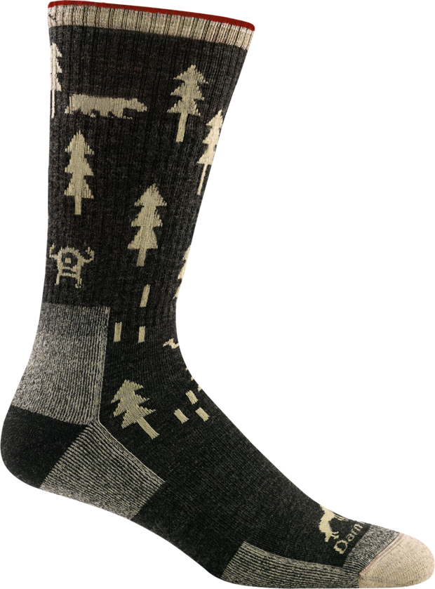 ABC Boot Midweight Hiking Sock for Men