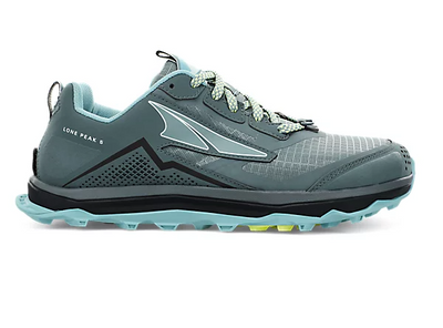 Altra Lone Peak 5 Shoes for Women Balsam Green