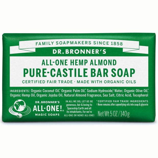 Almond Pure-Castile Bar Soap