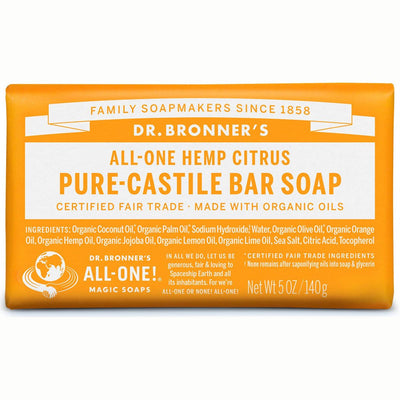 Citrus Pure-Castile Bar Soap