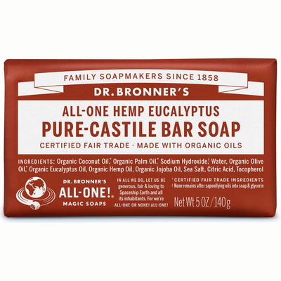 Eucalyptus Pure-Castile Bar Soap