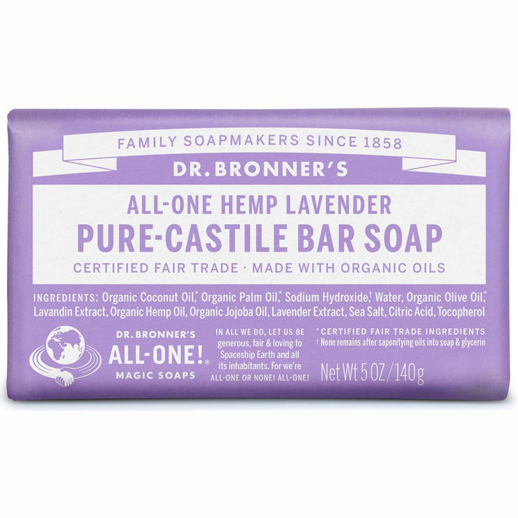 Lavender Pure-Castile Bar Soap