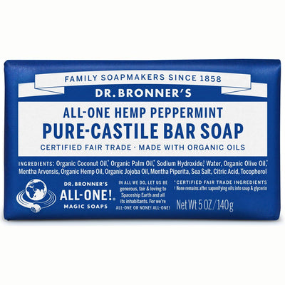 Peppermint Pure-Castile Bar Soap