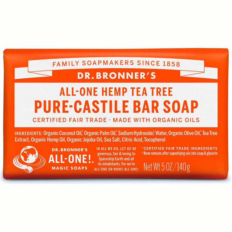 Tea Tree Pure-Castile Bar Soap