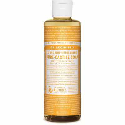 Citrus Pure-Castile Liquid Soap