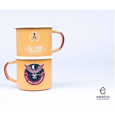 Emalco Soy Candle in Enamel Threadworks Mug - 8cm