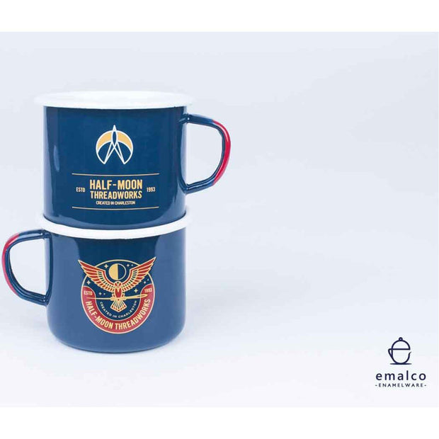 Emalco Enamel Threadworks Mug - 9cm