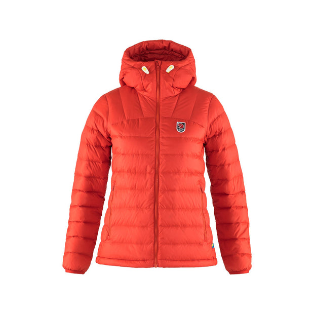 Fjall Raven Expedition Pack Down Hoodie for Women True Red