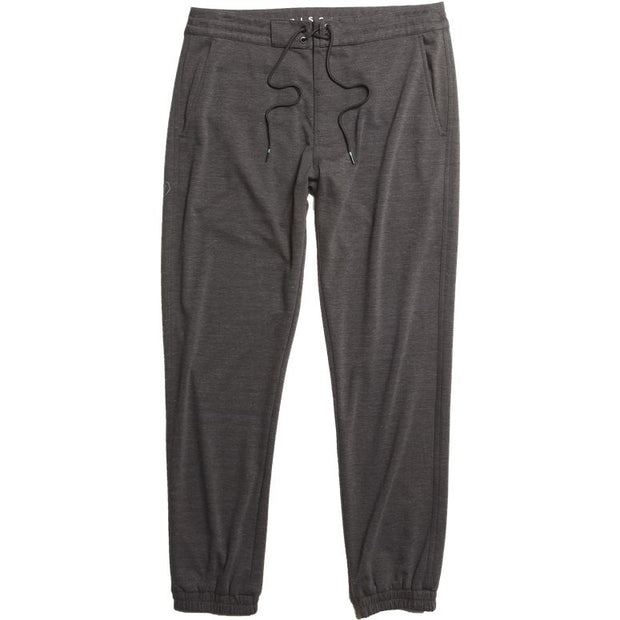 Vissla Locker Eco Sofa Surfer Pant for Men Black Heather