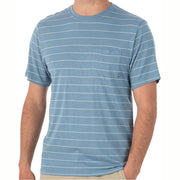 Bamboo Channel Pocket Tee for Men