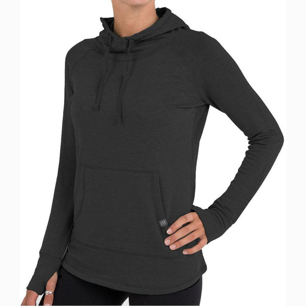 Bamboo Fleece Pullover Hoody for Women