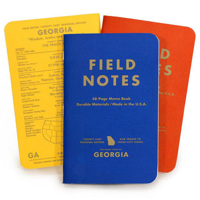COUNTY FAIR GEORGIA MEMO BOOKS