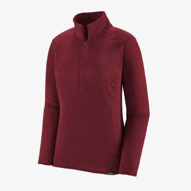 Patagonia Capilene Thermal Weight Zip Neck Pullover for Women Roamer Red Light Roamer Red