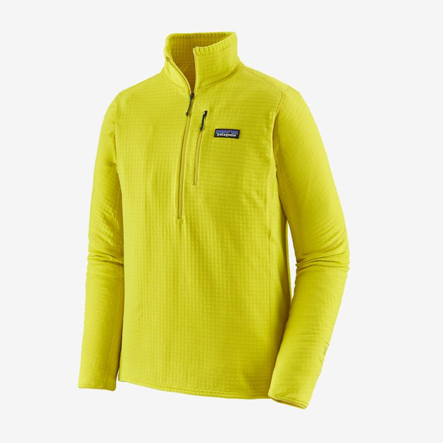Patagonia R1 Fleece Pullover for Men Chartreuse