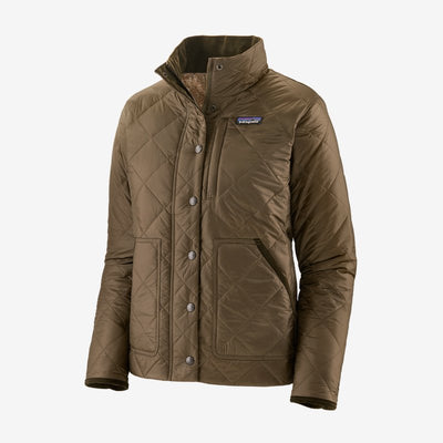 Patagonia Back Pasture Field Jacket for Women Topsoil Brown