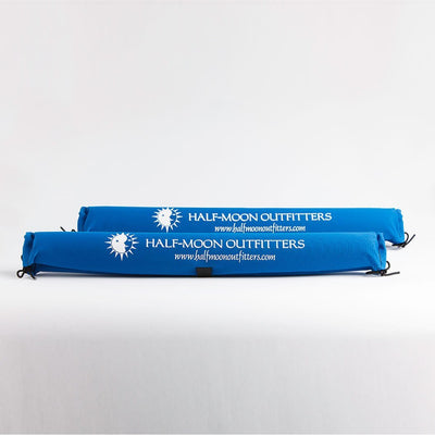 Half-Moon Outfitters Logo Extrema Split Bottom Rack Pads Blue