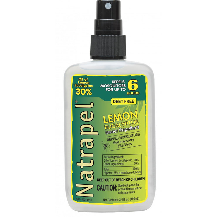 NATRAPEL Lemon Eucalyptus Bug Spray
