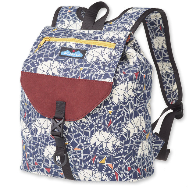 Kavu Satchel Pack Polar Mosaic